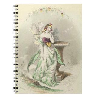 Cuaderno Pensamiento de Les Fleurs