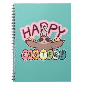 Cuaderno Pereza feliz de Pascua