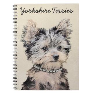 Cuaderno Perrito de Yorkshire Terrier