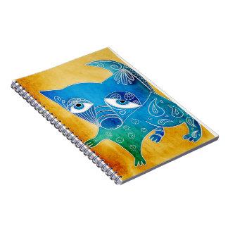 Cuaderno Perro azul