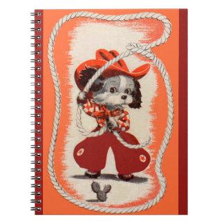 Cuaderno perro del vaquero
