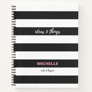 Cuaderno Personalizado, ideas y escritura de las cosas