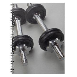 Cuaderno Pesos del entrenamiento
