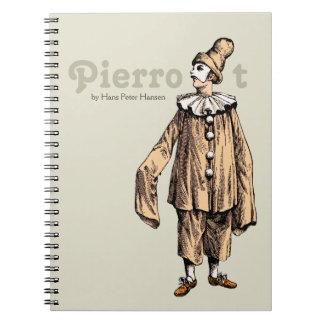 Cuaderno Pierrot de Hans Peter Hansen CC0199