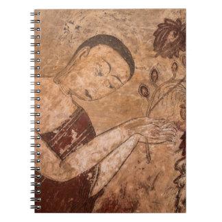 Cuaderno Pintura budista antigua