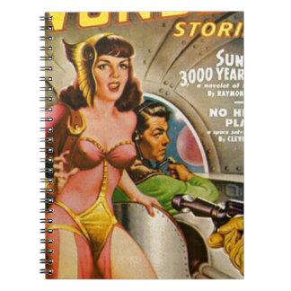 Cuaderno Piratas del espacio