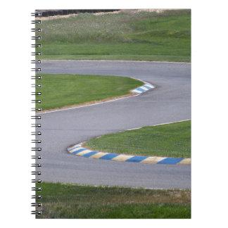 Cuaderno Pista de Kart