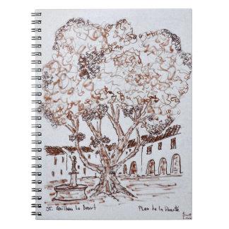 Cuaderno Place de la Liberte, Santo-Guilhem-le-Desierto