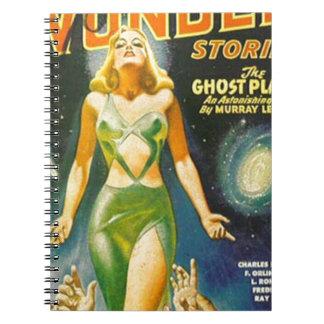 Cuaderno Planeta del fantasma