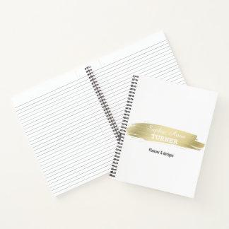 Cuaderno Planificador elegante del profesional del