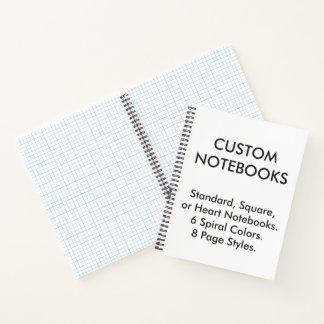 Cuaderno Plantilla personalizada personalizado del espacio