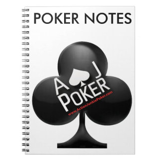 Cuaderno Póker del drogadicto de la acción