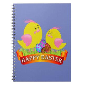 Cuaderno polluelos de pascua