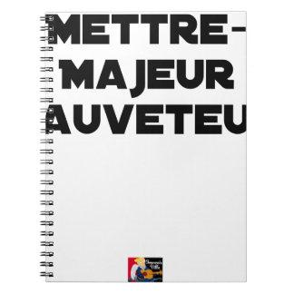 Cuaderno PONER a PRINCIPAL SALVADOR - Juegos de palabras
