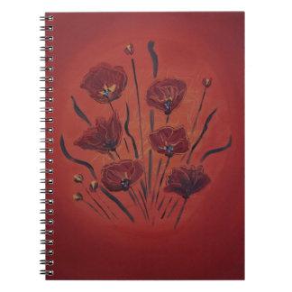 Cuaderno poppies