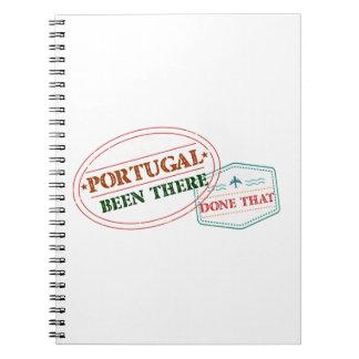 Cuaderno Portugal allí hecho eso