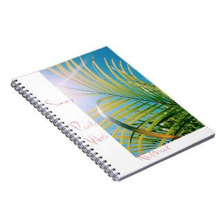 Cuaderno positivo soleado de la sensación