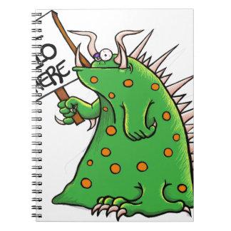 Cuaderno Pozo del gráfico de Greep hola allí