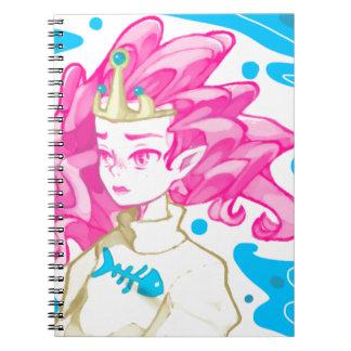 Cuaderno Princesa del mar