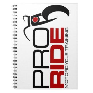 Cuaderno ProRide calificó mercancía