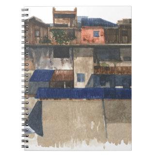 Cuaderno Pueblo vertical @ Phnom Penh