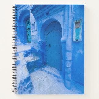 Cuaderno Puerta azul de la ciudad