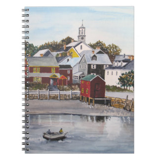 Cuaderno Puerto de Portsmouth, New Hampshire
