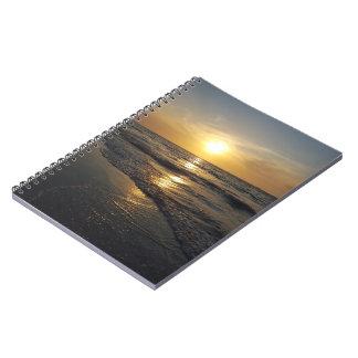 Cuaderno Puesta del sol