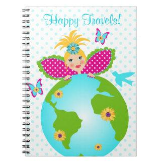 Cuaderno Puntos de hadas del diario del ángel de la madre