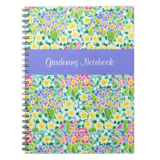 Cuaderno que cultiva un huerto adaptable de las pr cuaderno