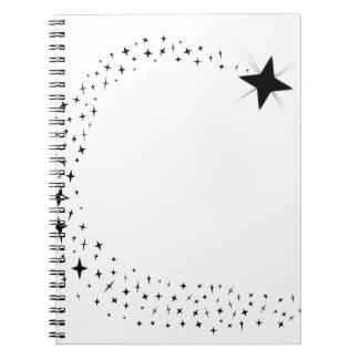 Cuaderno Racimo de la estrella fugaz