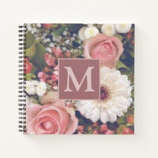 Cuaderno Ramo romántico de la flor