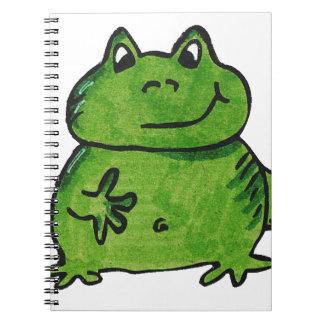 Cuaderno Rana Frog