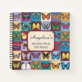 Cuaderno Receta del remiendo de la mariposa