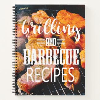 Cuaderno Recetas del asado a la parilla y de la barbacoa