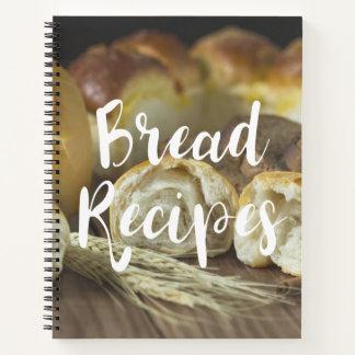 Cuaderno Recetas preferidas del pan