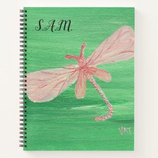 Cuaderno Recordatorio de la libélula