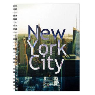 Cuaderno Recuerdo de New York City