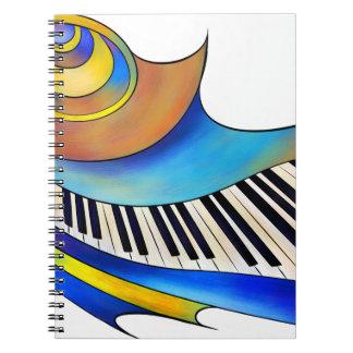 Cuaderno Redemessia - piano espiral