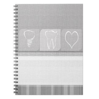 Cuaderno Regalos de lino del dentista del implante del