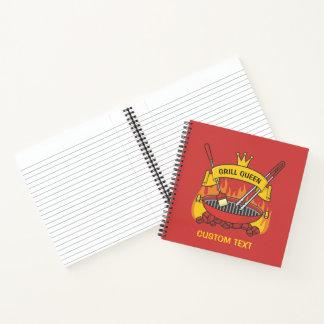 Cuaderno Reina de la parrilla