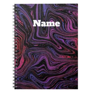 Cuaderno Remolino psicodélico