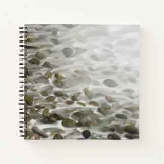 Cuaderno Reserva de piedra del estado de Lobos del punto de