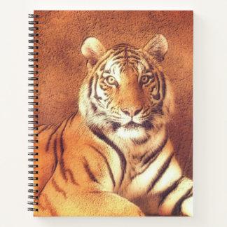 Cuaderno Retrato del arte del tigre