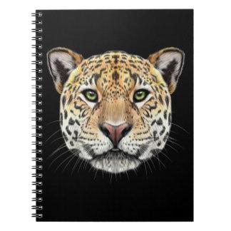 Cuaderno Retrato ilustrado del jaguar
