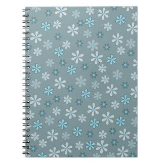 Cuaderno Retro modelo flor