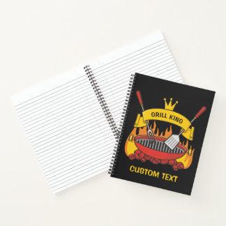 Cuaderno Rey de la parrilla