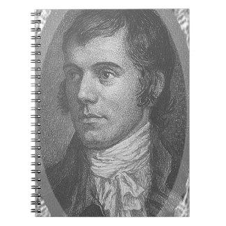 Cuaderno Robbie quema el retrato (gris)