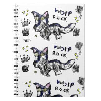 Cuaderno roca del lobo