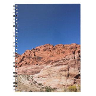Cuaderno Rocas rojas y cielos azules